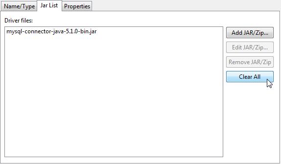 ZK - Setup MySQL DB in Eclipse - Documentation