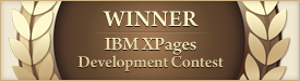 IBM XPages Development Contest Winner