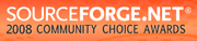 Finalist at 2008 SourceForge Community Choice Awards