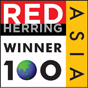 Winner of RED HERRING 100 ASIA
